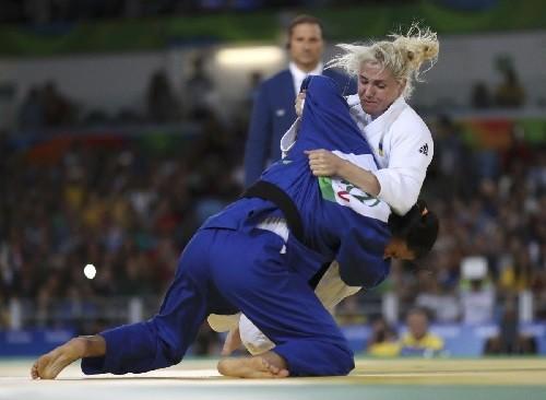 Черняк выиграла серебро Гран-при по дзюдо в Тель-Авиве