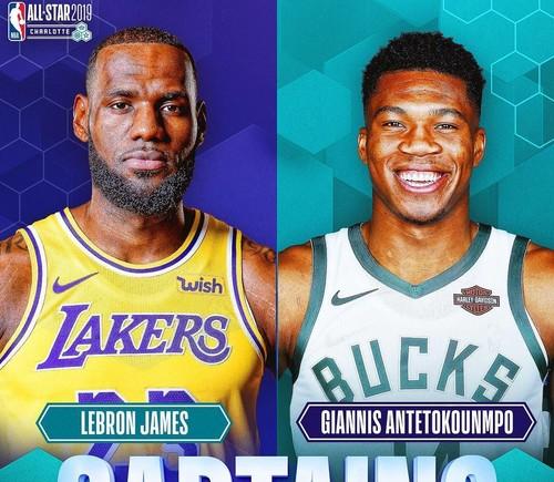 Стали известны стартовые пятерки на Матч звезд НБА