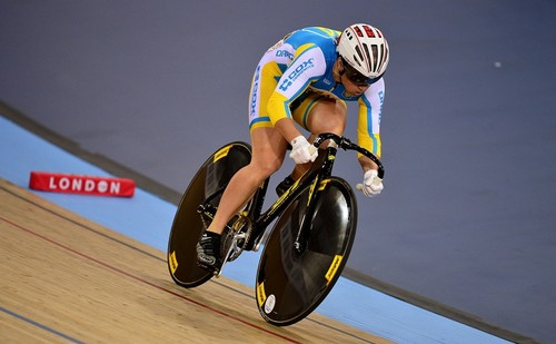 Украинки завоевали серебро на Кубке мира по велотреку