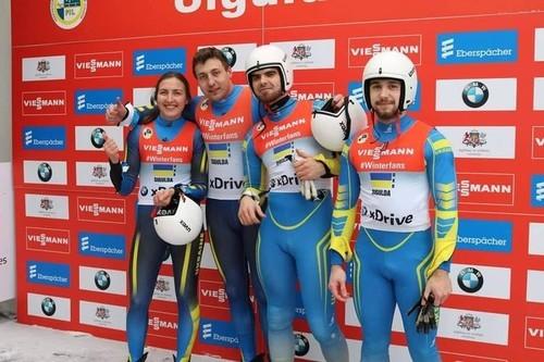 Украинцы стартовали на чемпионате мира по санному спорту