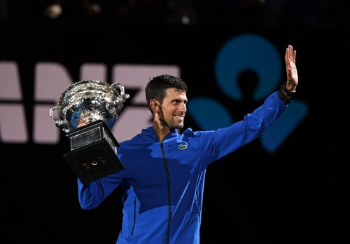 Джокович выиграл три турнира Grand Slam после 30 лет