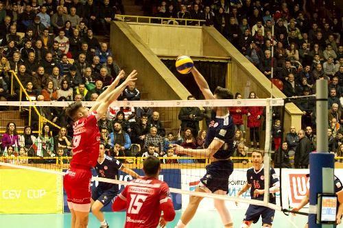 Состоялись первые четвертьфинальные матчи мужского Кубка ЕКВ