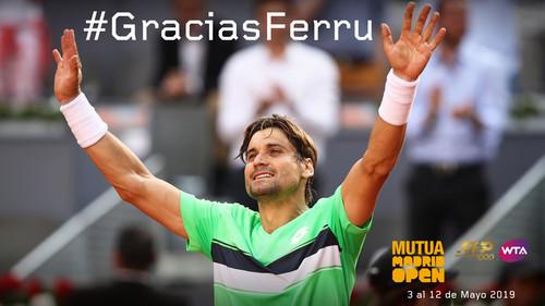 Феррер получил wild card на турнир в Мадриде, где он завершит карьеру