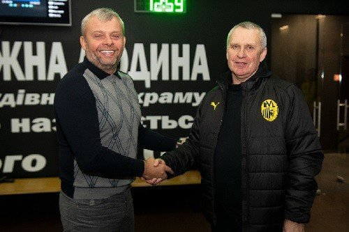 ФК Рух. Григорій Козловський і Леонід Кучук