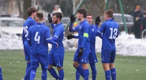 Динамо U-21 в контрольном матче уступило Волыни