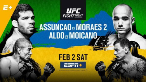 UFC Fight Night 144. Стали известны лучшие бойцы вечера