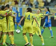 Женская сборная Украины выиграла у Венгрии в отборе к ЧМ