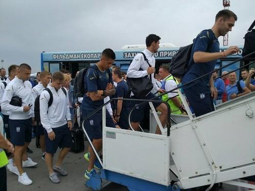 Збірна України вирушила до Чехії