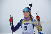 ЮЧМ-2019 по биатлону. Москаленко поднялась на 8-е место в персьюте