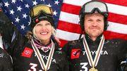 США – чемпионы мира по сноуборду в командном турнире