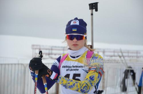 ЮЧМ-2019 по биатлону. Бех выиграла золото для Украины в персьюте