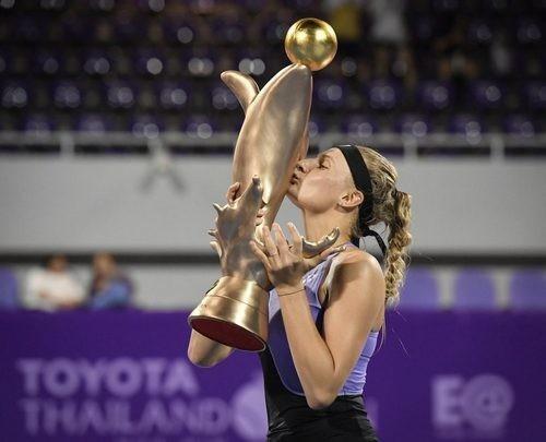 Ястремская выиграла турнир WTA в Таиланде, Бех добыла золото на ЮЧМ