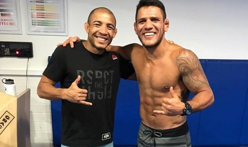 Жозе Альдо и Рафаэль дос Аньос хотят боя с Макгрегором