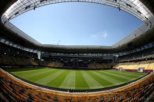 Украина сыграет с Сербией и Люксембургом на Арене Львов