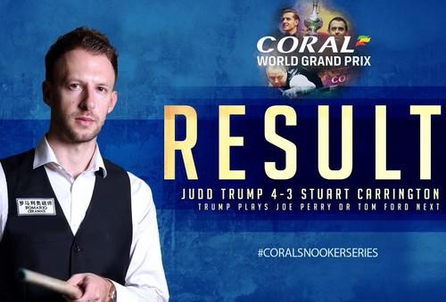 Coral World Grand Prix: Трамп и Дин идут дальше