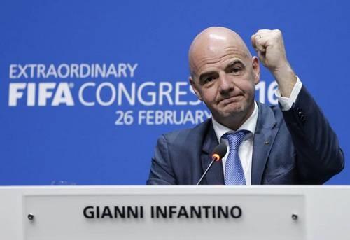 Инфантино стал единственным кандидатом на пост главы ФИФА