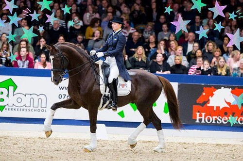 Вершниця Логутенкова взяла участь у найбільшій виставці коней у світі