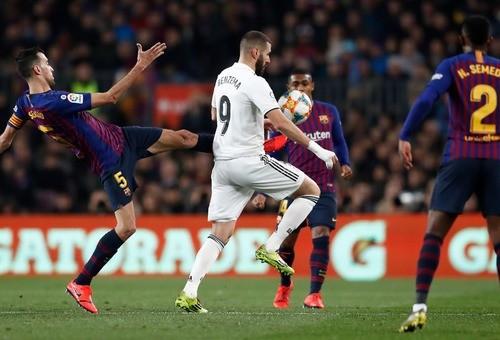 Барселона и Реал сыграли вничью в первом матче полуфинала Кубка Короля