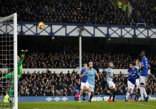 Эвертон - Манчестер Сити - 0:2. Видео голов и обзор матча