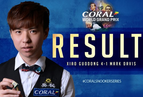 Coral World Grand Prix: известны первые четвертьфиналисты