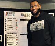 Джеймс и Адетокунбо сформировали команды на Матч звезд НБА