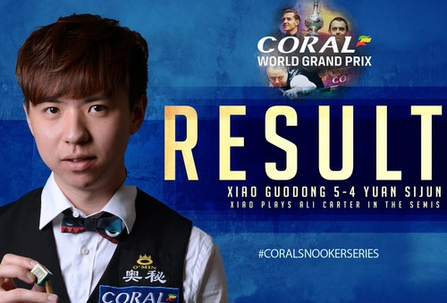 Coral World Grand Prix: Картер и Сяо вышли в полуфинал