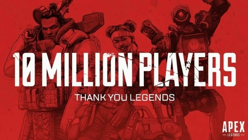 В Apex Legends сыграло 10 млн человек за три дня