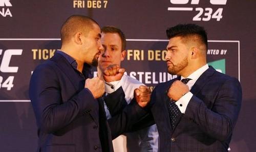 UFC 234. Роберт Уиттакер – Келвин Гастелум. Прогноз и анонс на бой