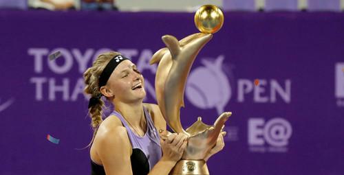 WTA назвала Ястремскую «Прорывом месяца»