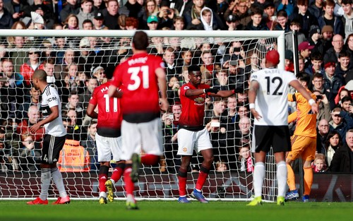 Манчестер Юнайтед в гостях разгромил Фулхэм