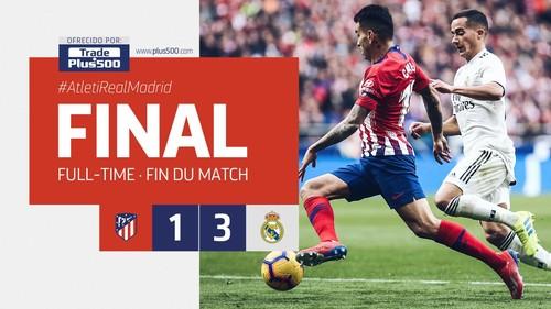 Атлетико - Реал Мадрид. Реакция соцсетей