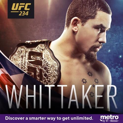 UFC 234. Уиттакер снялся с боя против Гастелума