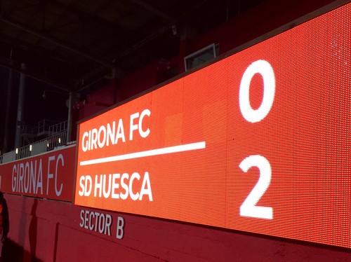 Жирона – Уэска – 0:2. Видео голов и обзор матча