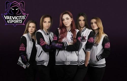 Женская команда сыграет в главной лиге по League of Legends