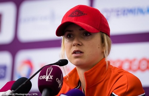 Элина СВИТОЛИНА: «Не планировала выступать в Дохе»