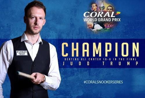 Джадд Трамп выиграл Coral World Grand Prix