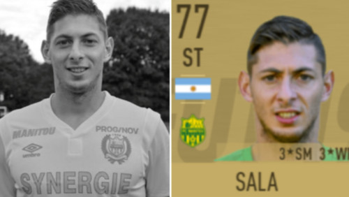 Эмилиано Салу убрали из FIFA 19