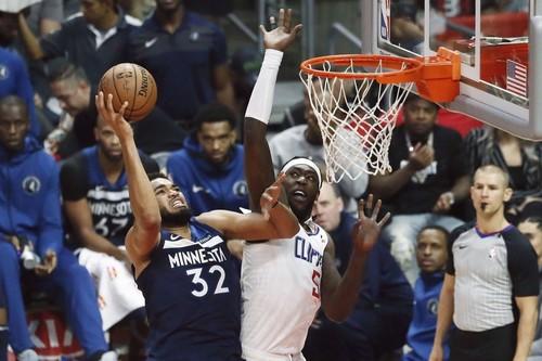 НБА. Миннесота – Клипперс. Смотреть онлайн. LIVE трансляция