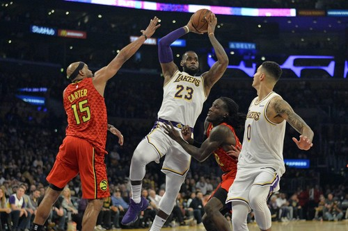 НБА. Атланта – Лейкерс. Смотреть онлайн. LIVE трансляция