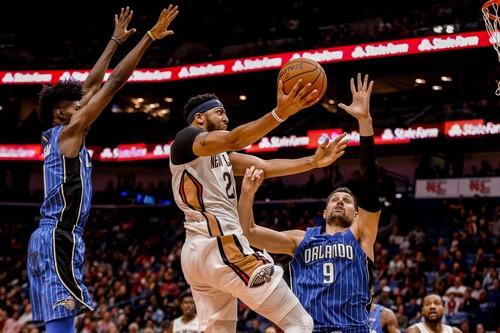 НБА. Нью-Орлеан – Орландо. Смотреть онлайн. LIVE трансляция