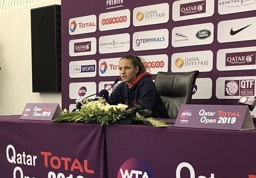 Каролина Плишкова снялась с турнира в Дохе