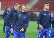 Динамо провело тренировку в Пирее
