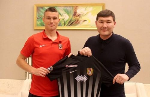 Украинец Барановский стал игроком Шахтера из Караганды