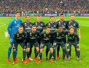 ФК Реал Мадрид. Тибо Куртуа (слева)