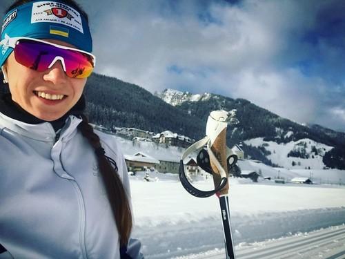 Мария КРУЧОВА: «Мне наехали на лыжу и сломали палку»