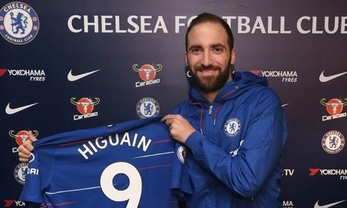Челси надеется сбить цену на Игуаина