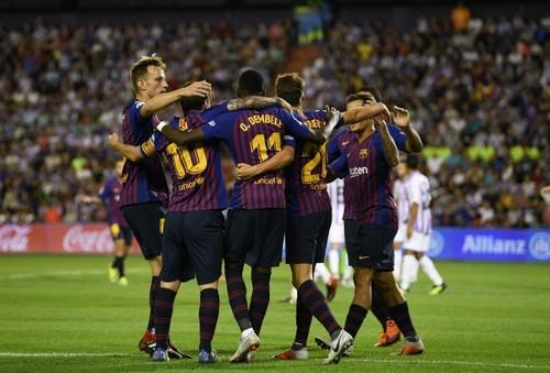 Где смотреть онлайн матч чемпионата Испании Барселона – Вальядолид
