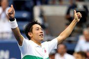 Кеи Нишикори вышел в полуфинал US Open