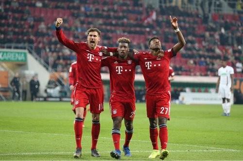 Аугсбург — Бавария — 2:3. Видео голов и обзор матча