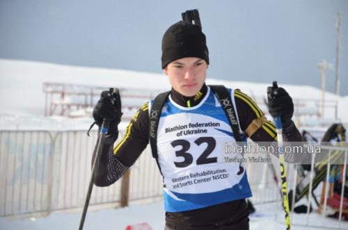 Всеукраинские соревнования. Результаты индивидуальных гонок у юношей